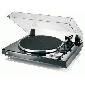 Dual CS 455-1M Piano Black Silver