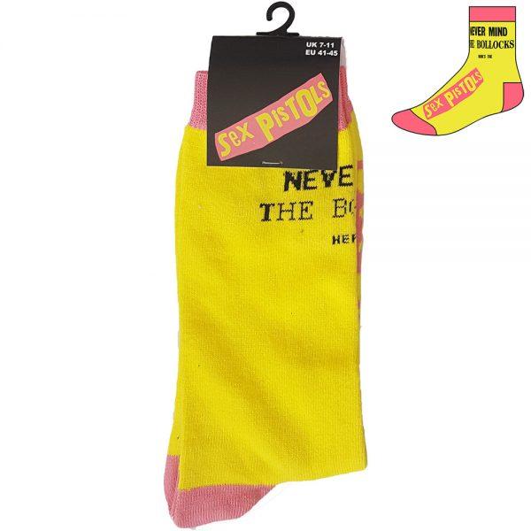 Sex Pistols Never Mind Yellow Sock