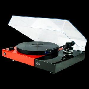 PE 2525 RED/BLACK JELCO Straight 250 Ortofon 2M Blue.