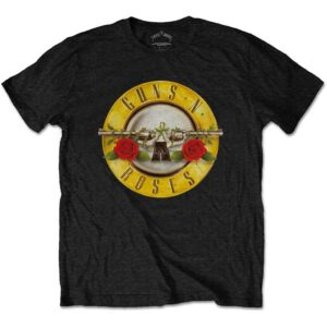 Guns N' Roses Unisex T-Shirt: Classic Logo