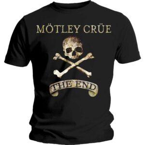 Motley Crue T-shirt - The End