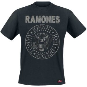 Ramones T-shirt - Seal Hey Ho (Back Print)