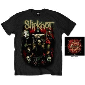 Slipknot T-shirt - Come Play Dying (Back Print)