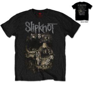 Slipknot T-shirt - Skull (Back print)
