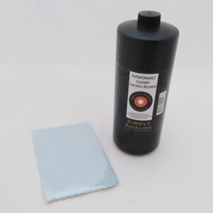 Simply Analog 1lit disc cleaner + cloth.