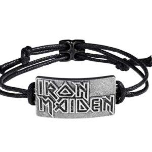 IRON MAIDEN: Logo Bracelet