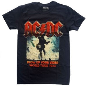 AC/DC T-shirt - Blow Up Your Video