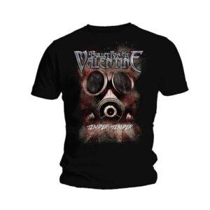 Bullet For My Valentine T-shirt - Temper Temper Gas Mask