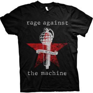 Rage Against The Machine T-shirt - Bulls on Parade Mic