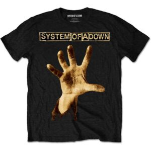System Of A Down T-shirt - Hand