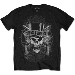 Guns N' Roses T-shirt - Faded Skull