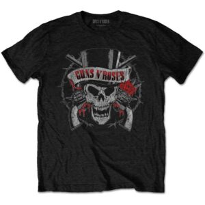 Guns N' Roses T-shirt - Distressed Skull